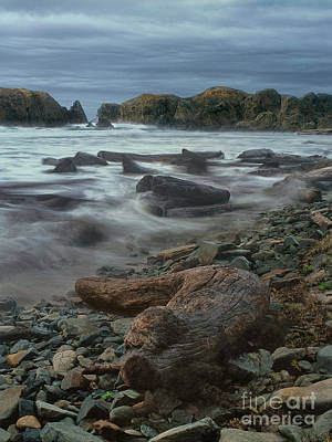 Photograph - Stormy Surf Bandon Beach Oregon by Dave Welling