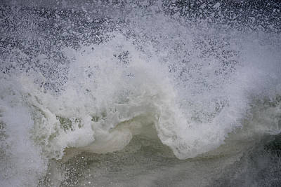Photograph - Stormy Surf by Robert Potts