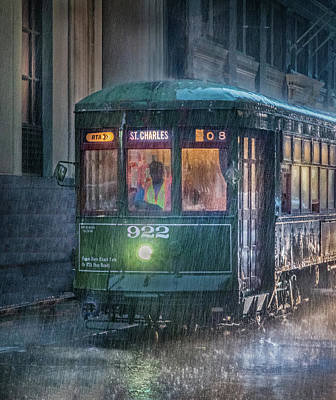 Photograph - Stormy Trolly Ride by James Woody