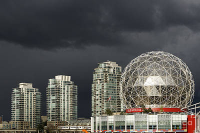 Photograph - Stormy Vancouver by John  Mitchell