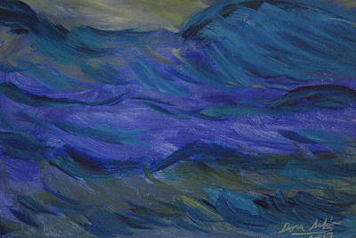 Painting - Stormy Waters - An Abstract by Dora Sofia Caputo Photographic Design and Fine Art