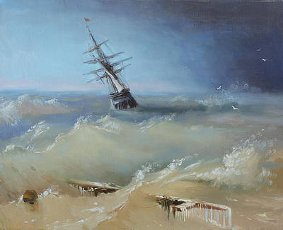 Painting - Stormy Waters by Ilya Kondrashov