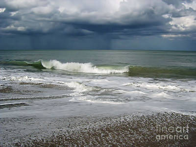 Stormy Weather Art Print by D Hackett