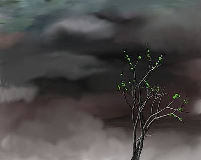 Digital Art - Stormy Weather by David Lane