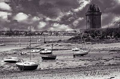 Art Print featuring the photograph Stormy Weather by Elf Evans