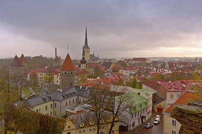 Stormy Weather In Tallin Estonia. Original by Gino Rigucci