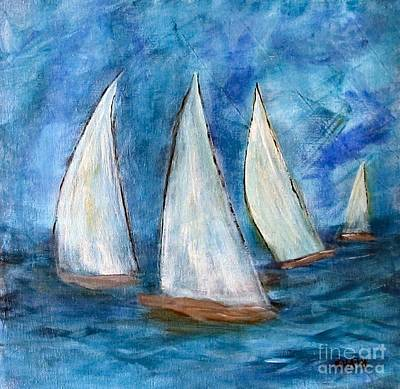Painting - Stormy Weather by Karen Day-Vath