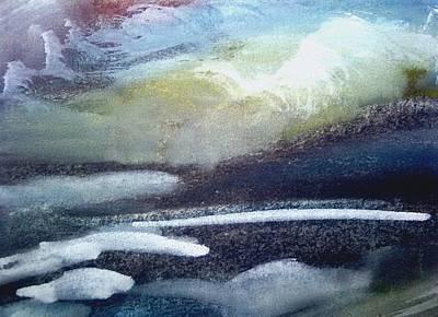 Inner World Painting - Stormy Weather by Madina Kanunova