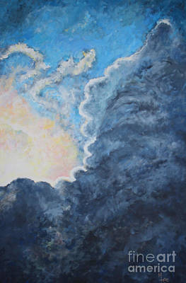 Painting - Stormy Weather by Mary-Lee Sanders