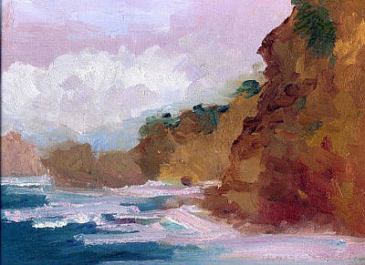 Landscape Painting - Stormy Weather by SharonJoy Mason