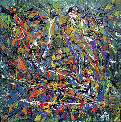 Wall Art - Painting - Stormza Brewin' by Pam Roth O'Mara