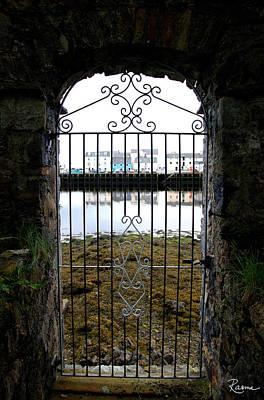 Photograph - Stornoway Seaside Gate by Rasma Bertz
