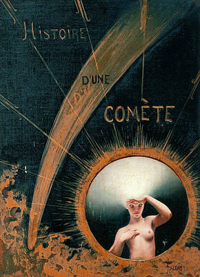 Painting - Story Of A Comet by Luis Ricardo Falero