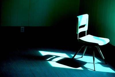 Moody Photograph - Story Of The Chair by Emily Stauring