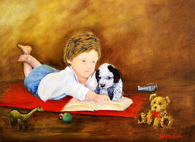 Painting - Storybook Time by Loretta Luglio