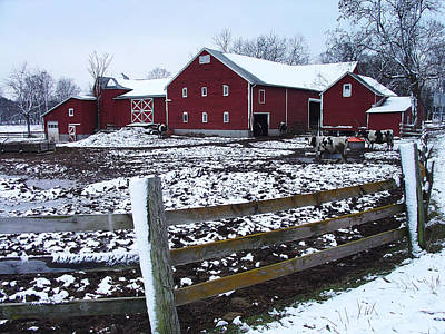 Photograph - Story's Farm On The Flats Below Palenville by Terrance DePietro