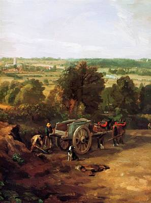 Painting - Stour Valley And Dedham Village by Constable John