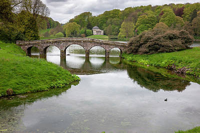 Photograph - Stourhead by Christopher Rees