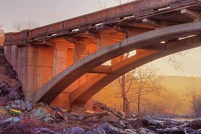 Photograph - Stouts Creek Bridge by Robert Charity