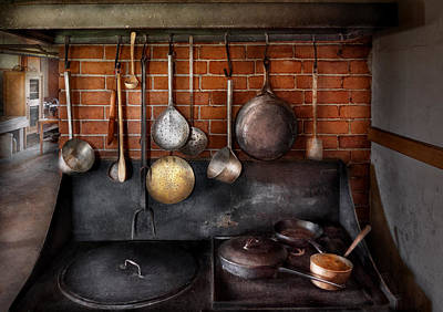 Restaurants Photograph - Stove - The Gourmet Chef  by Mike Savad
