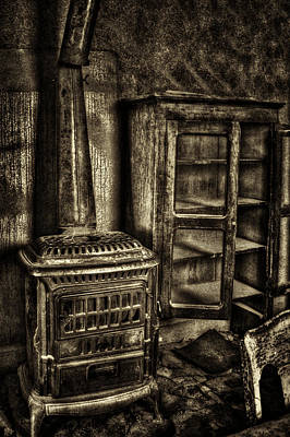 Photograph - Stove And Cabinet Bodie Ghost Town by Roger Passman