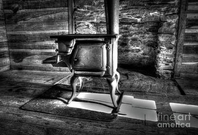 Art Print featuring the photograph Stove by Douglas Stucky