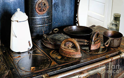 Photograph - Stove Top Cooking by Jon Burch Photography