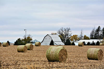 Photograph - Stover Bales by Bonfire Photography