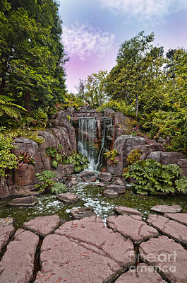 Photograph - Stow Lakes Waterfall  by Jim Fitzpatrick