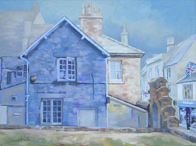 Painting - Stow On The Wold by Carol Strickland