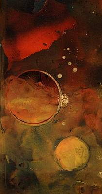 Outerspace Mixed Media - Stowaway Project2 by Valera Ainsworth