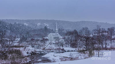 Photograph - Stowe Vermont by New England Photography