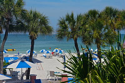 Photograph - St Pete Beach by Denise Mazzocco