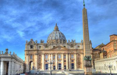 Photograph - St. Peter's Basilica  by Bill Hamilton