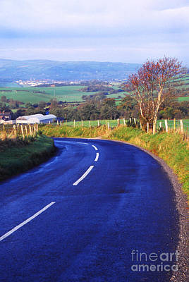 Strabane Photograph - Strabane-plumbridge Road by Thomas R Fletcher