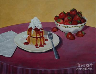 Painting - Strawberry Shortcake by Michael Nowak