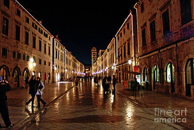 Photograph - Stradun Dubrovnik by Jasna Dragun