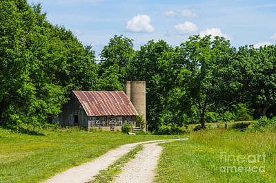 Photograph - Strafford Mo Farm by Jennifer White