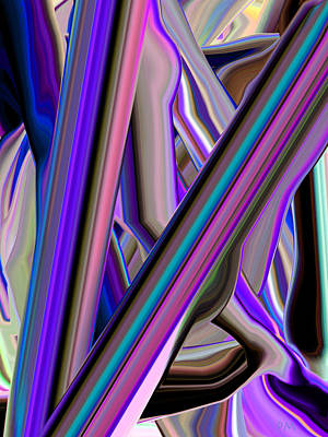 Digital Art - Straight 1 by Phillip Mossbarger