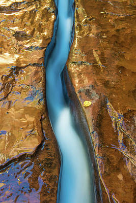 Photograph - Straight Flow by Greg Wyatt