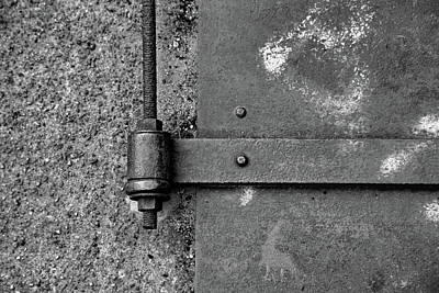 Art Print featuring the photograph Straight Metal by Karol Livote