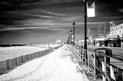 Photograph - Straight On In Ocean City by John Rizzuto