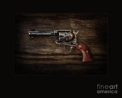 Western Art Digital Art - Straight Shooter by Patty Hallman