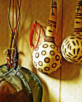 Photograph - Strainer And Ladles by Sarah Loft