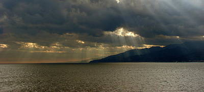 Photograph - Strait Of Messina I by Brett Winn