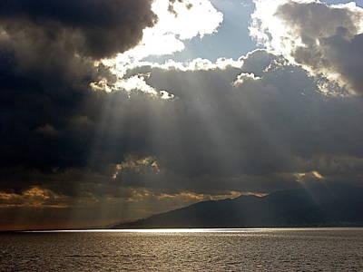 Photograph - Strait Of Messina II by Brett Winn