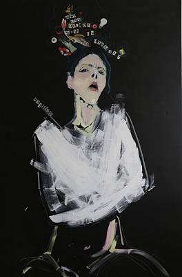 Mental Painting - Straitjacket by Francesca Candito