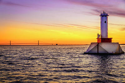 Photograph - Straits Of Mackinac by Alexey Stiop