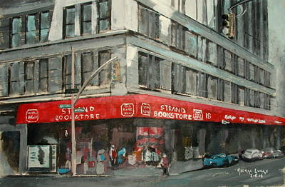 Strand Bookstore Art Print by George Lucas