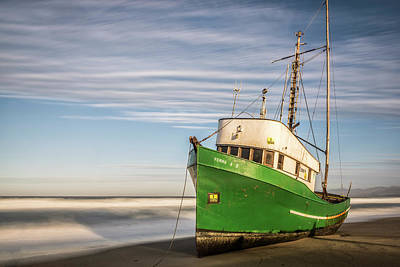 Photograph - Stranded On The Beach by Jon Glaser